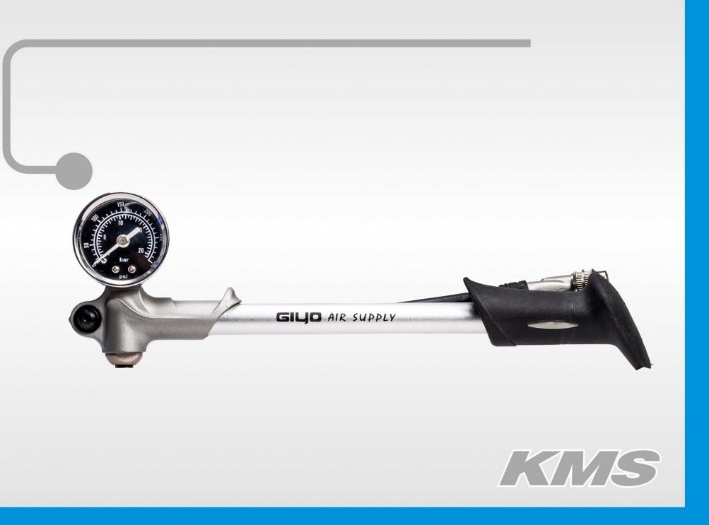 Насос ручной высокого давл. для вилок GIYO GS-02D