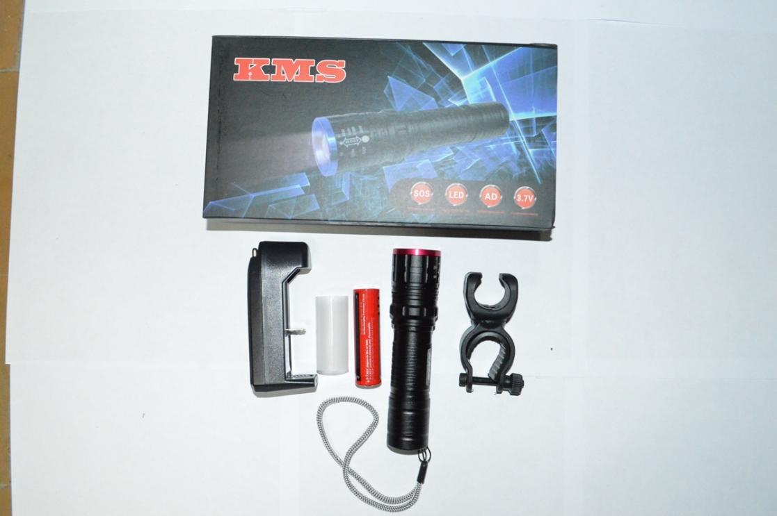 Фара перед AL 10W с аккумулятором KMS, код 3265354