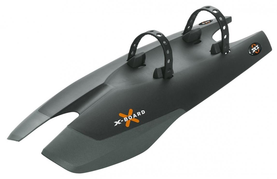 Крыло пластиковое SKS щиток передний X-BOARD 24-28 крепл. на перенюю трубу рамы